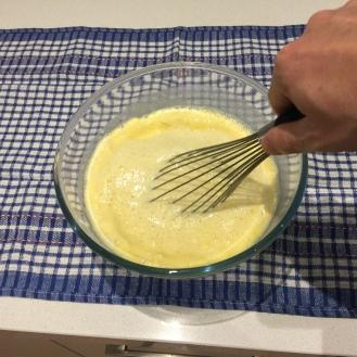 keep stir incorporating the flour slowly