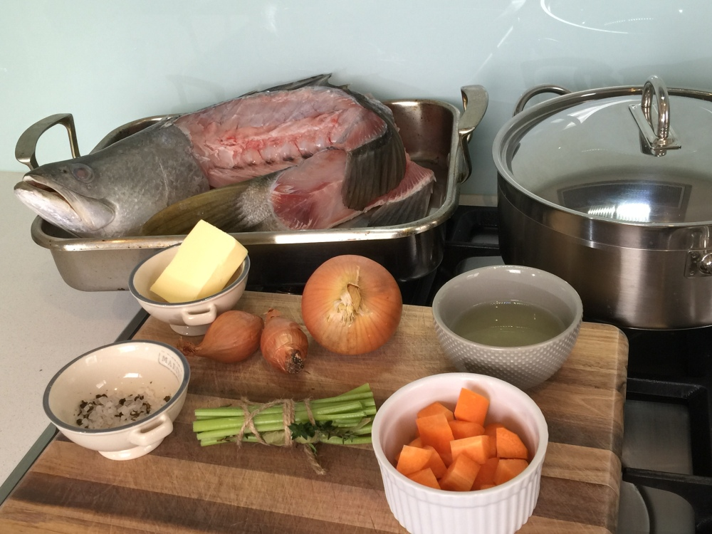 French fish stock (fumet) recipe